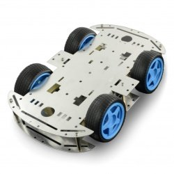 Metal Chassis Rectangle 4WD...