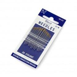 Needle sizes 3/9 - set of...