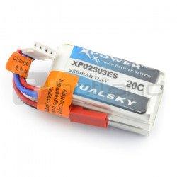 LiPol Dualsky package 250mAh 20C 3S 11.1V