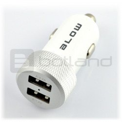 Car charger / power supply Blow 5V/4.2A 2 x USB - white