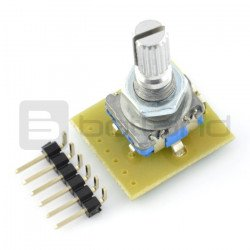 Rotary switch, pulser, encoder with transmitter - MOD-16