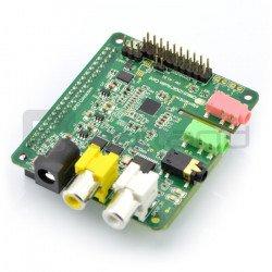 Wolfson Cirrus Logic Audio Card - sound card for Raspberry Pi +