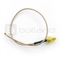 RP-SMA male adapter - U.FL - 20cm
