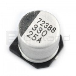 Electrolytic capacitor 330uF/25V SMD