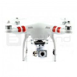 DJI Phantom 2 Vision Plus 2.4 GHz quadrocopter drone with 3D gimbal and camera