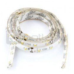 LED bar IP65 6W, 60 diodes/m, 8mm, cold color - 1m