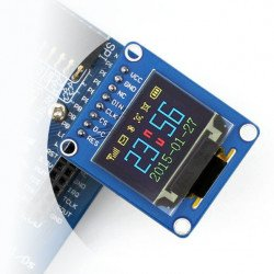 """OLED graphic colour display 0.95"""" 96x64px - SPI"""