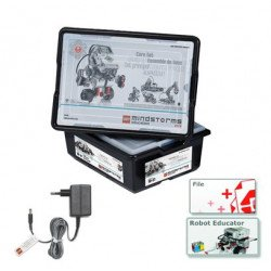 Lego Mindstorms EV3 + power supply and additional blocks - full