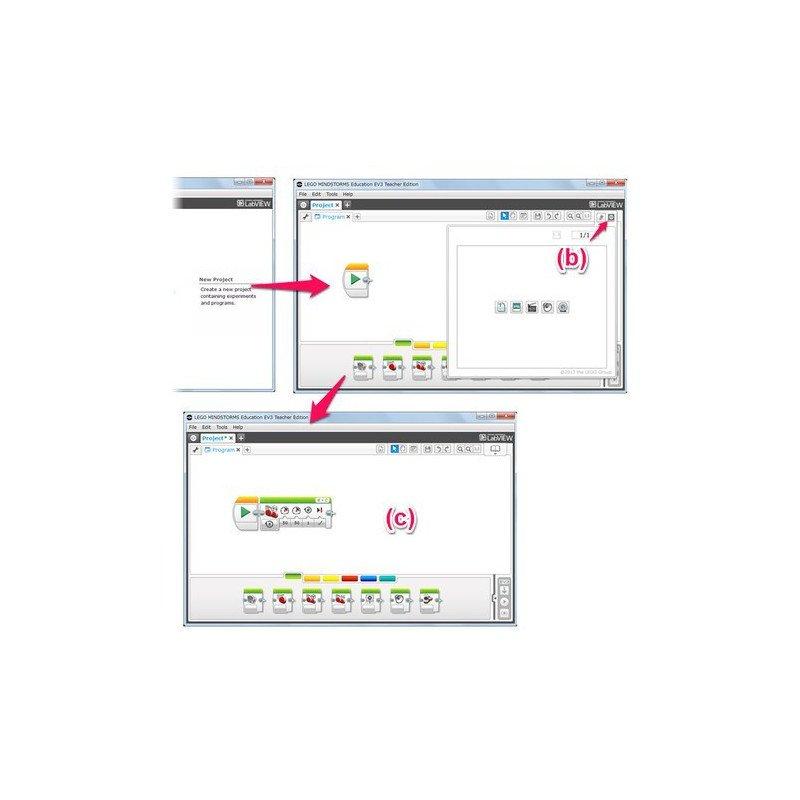 Lego Mindstorms EV3 - Multiple workstation software - Lego license 2000046