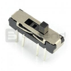 Slide switch MSS-2336 3-position slide switch - simple