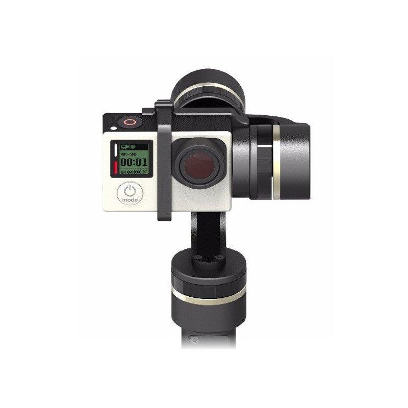Gimbal handheld stabilizer for GoPro Feiyu-Tech G4S cameras
