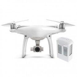 DJI Phantom 4 quadrocopter drone with 3D gimbal and 4k UHD camera + additional battery