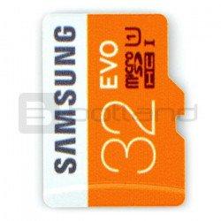 Memory card Samsung EVO micro SD SDHC 32 GB 320x UHS-I class 10
