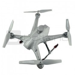 Quadrocopter drone OverMax X-Bee drone 5.2 WiFi 2.4GHz with FPV camera - 62cm + 2 additional batteries