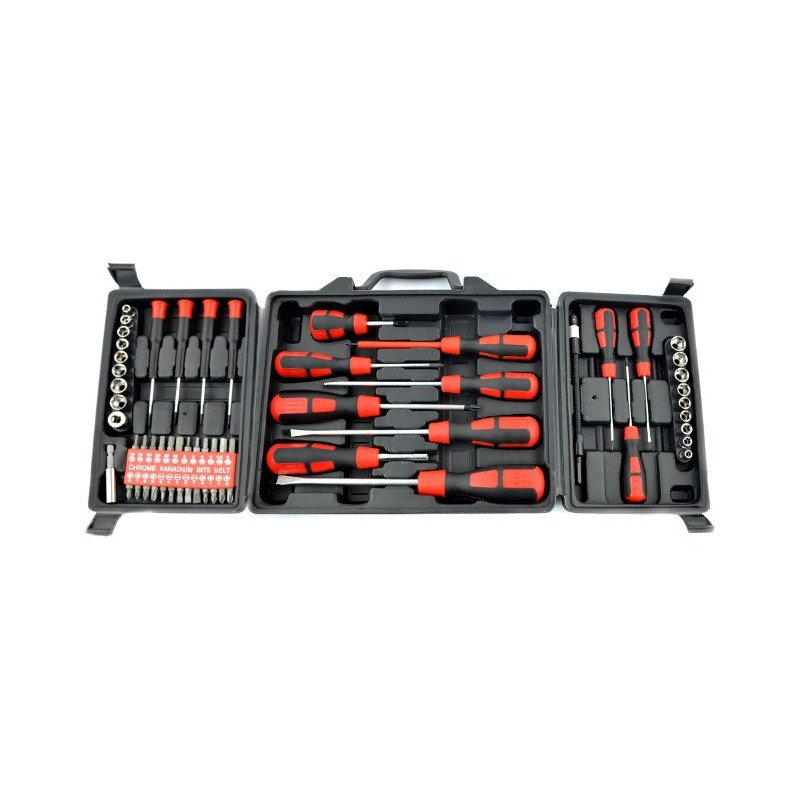 Stahlbar tool set KL-12039 - 60 elements