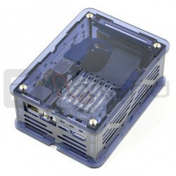 CloudShell for Odroid XU4 - elements for building a NAS file server - blue