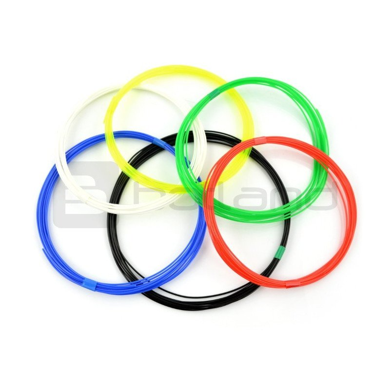 Filament for Printing Pen - 6 pcs.