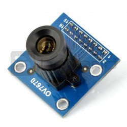 OV7670 B 0.3MPx 640x480px 30fps camera module with HQ lens