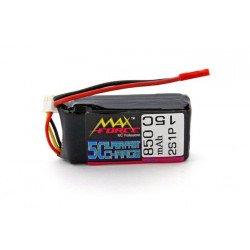 3E Model Max Force 850 mAh 7.4V 15C