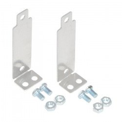 Pololu Bracket Pair for Sharp GP2Y0A02, GP2Y0A21, and GP2Y0A41 Distance Sensors - Perpendicular