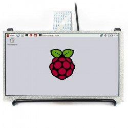 """LCD screen IPS 7"""" 1024x600px DPI for Raspberry Pi 3/2/Zero/Zero In"""