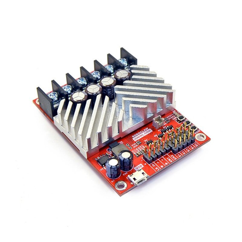 RoboClaw 2x15A USB V5 - dual channel 34V / 15A motor driver