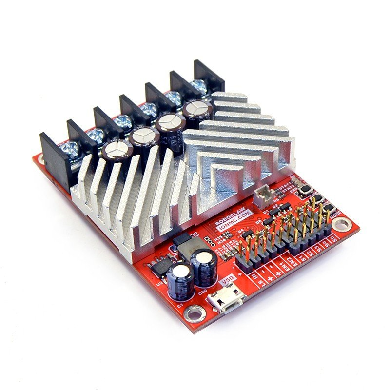 RoboClaw 2x30A USB V5 - dual channel 34V / 30A motor controller