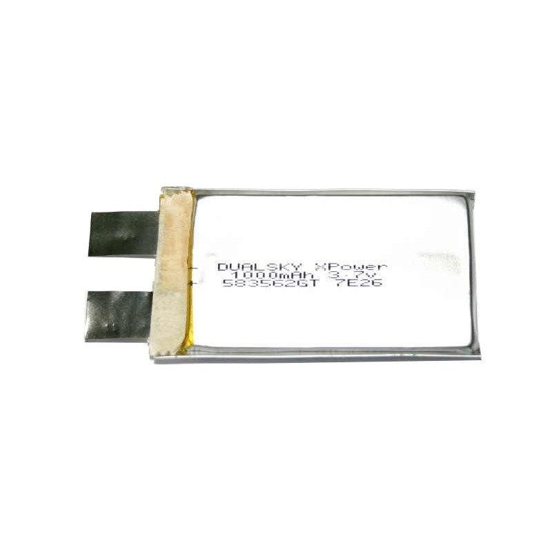 LiPol Dualsky 1000mAh 25C 3.7V