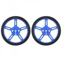 Polol wheels 60x8mm - blue