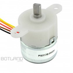 Stepper motor PG2528-0502U gearbox 76:1 5V 0.2A