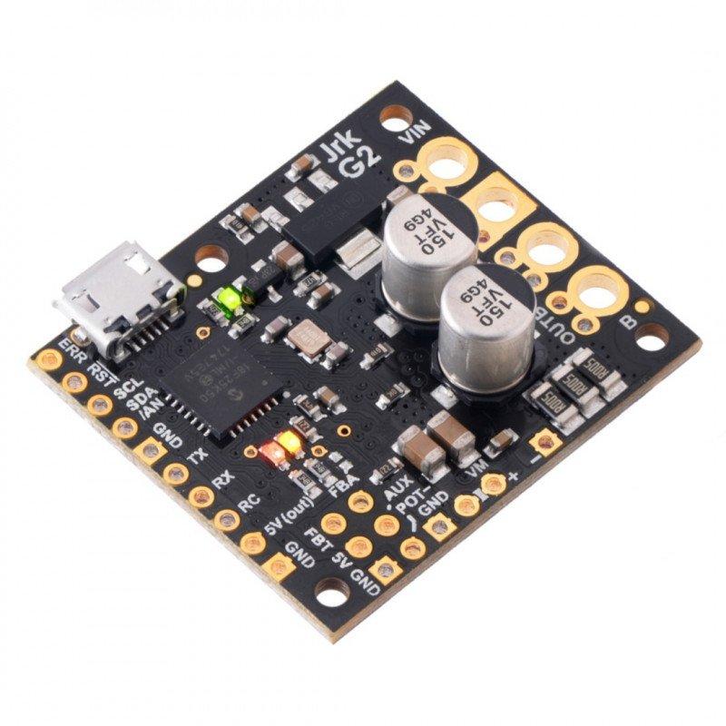Pololu JRK G2 18v19 - single channel USB motor driver with 30V/19A feedback