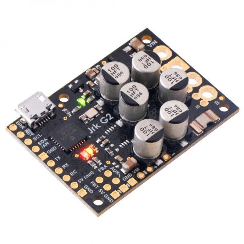 Pololu JRK G2 24v21 - single channel USB motor driver with 40V/21A feedback