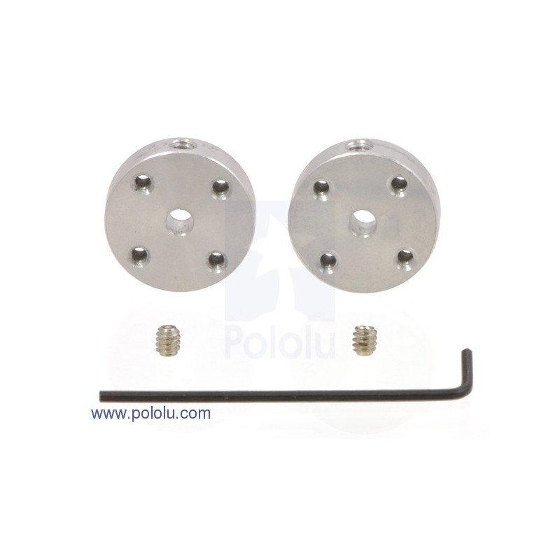 Aluminium 3mm mounting hub