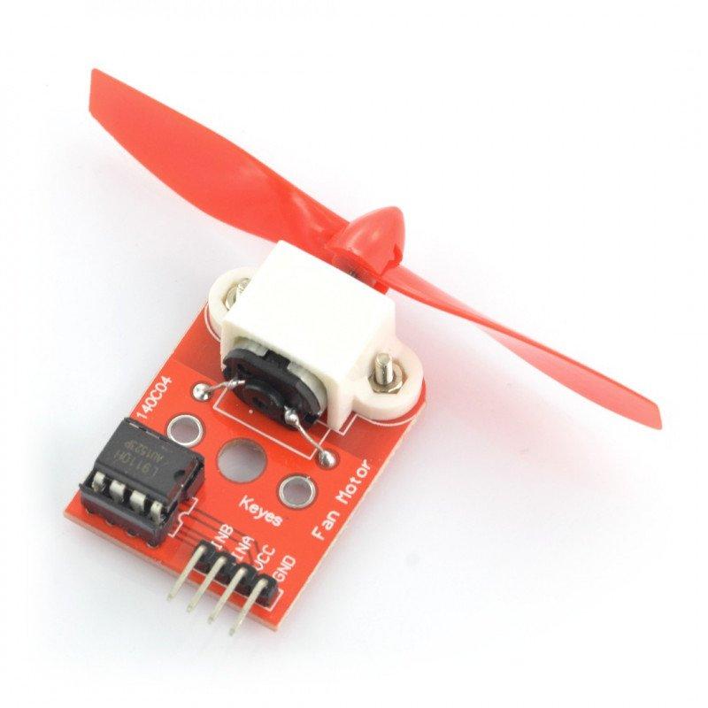 for Arduino Firefighting Robot Design Development Controller DIY L9110 Fan Module//Sensor Module