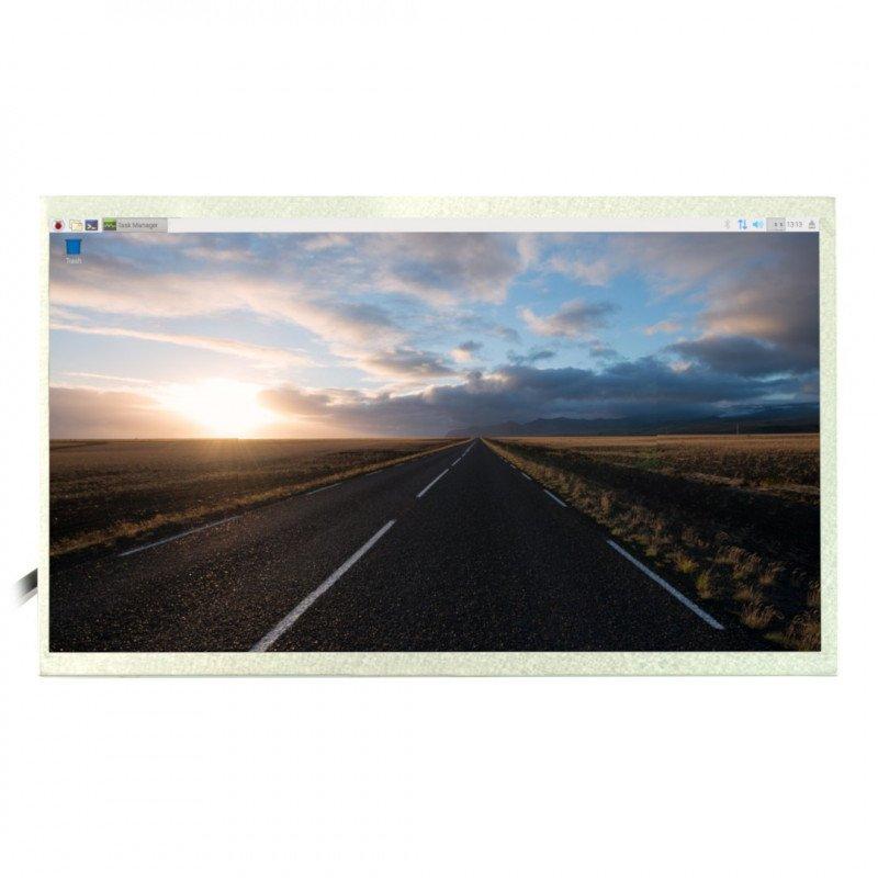 10.1'' TFT LCD screen 1024x600px for Raspberry Pi 3B+/3B/2B/B+