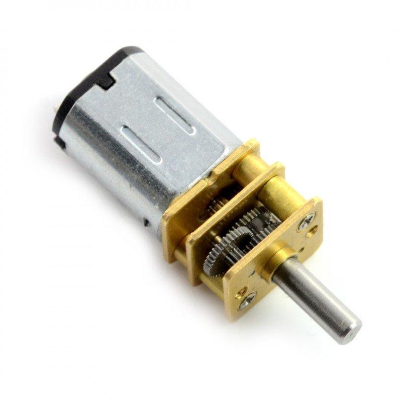 N20-BT18 micro 5:1 250RPM motor - 9V