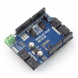 Cytron G15 Shield - supply unit 4-channel UART 15V/5A for Arduino