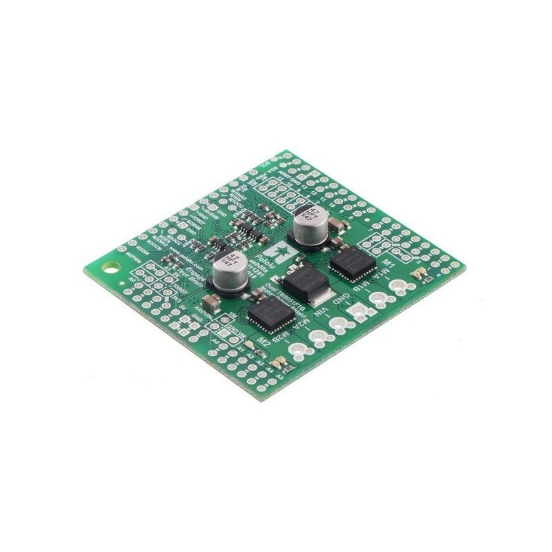 TB9051FTG Pololu - dual-channel driver engines 28V/2.6 A - shield for Arduino