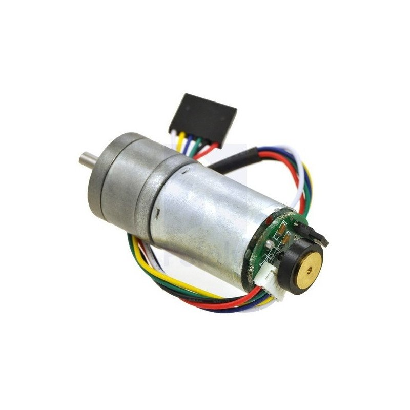 Geared motor 25Dx56L 227:1 12V 33RPM + CPR 48 encoder