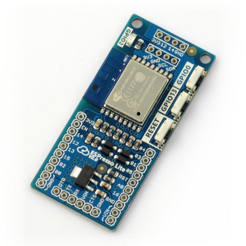 Espresso Lite V2.0 - wifi module ESP-WROOM-02 - compatible with Arduino