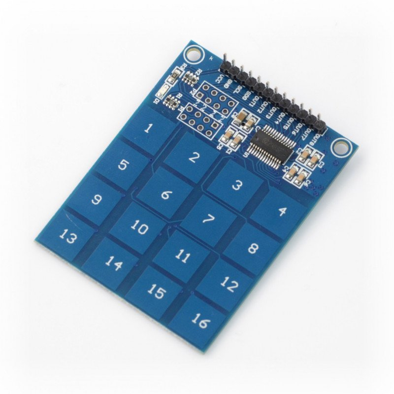 16 Way XD-62B TTP229 Capacitive