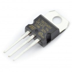 5V stabiliser L7805ABV - THT TO220