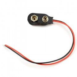 9V battery clip (6F22)