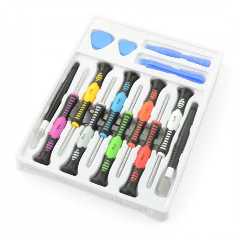 Precision tool set - 16 items