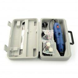 Veleman VTHD04 precision mini-drilling machine - 40 pieces engraving kit