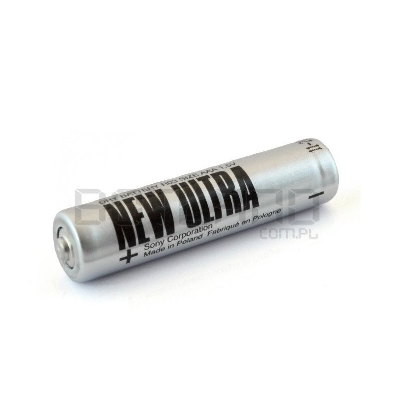 AAA (R3) Sony New Ultra battery