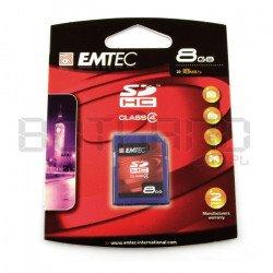 Emtec SD / SDHC 8GB class 4 memory card