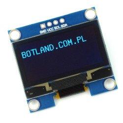 """1.3"""" Inch Blue I2C IIC OLED LCD Module 4pin"""