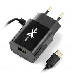 Power Supply eXtreme Ampere ATCCU24B USB Type C + USB 2,4A