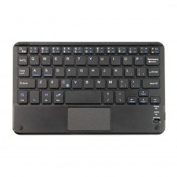 Bluetooth 3.0 keyboard with Touchpad - black - 7 inches